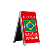 Cavalete Padrão Farmácia Popular