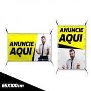 Faixa ou Banner de Tecido 65cm