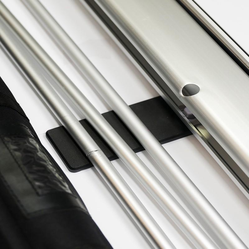 Banner Roll Up Box Completo Portátil Personalizado HD   - 1000 Birutas