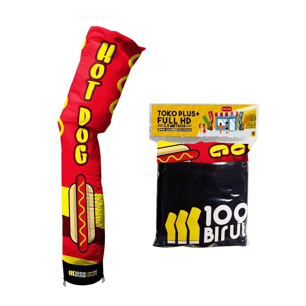 Biruta Canudo TOKO PLUS 2,5 Metros Pano Para Hot Dog