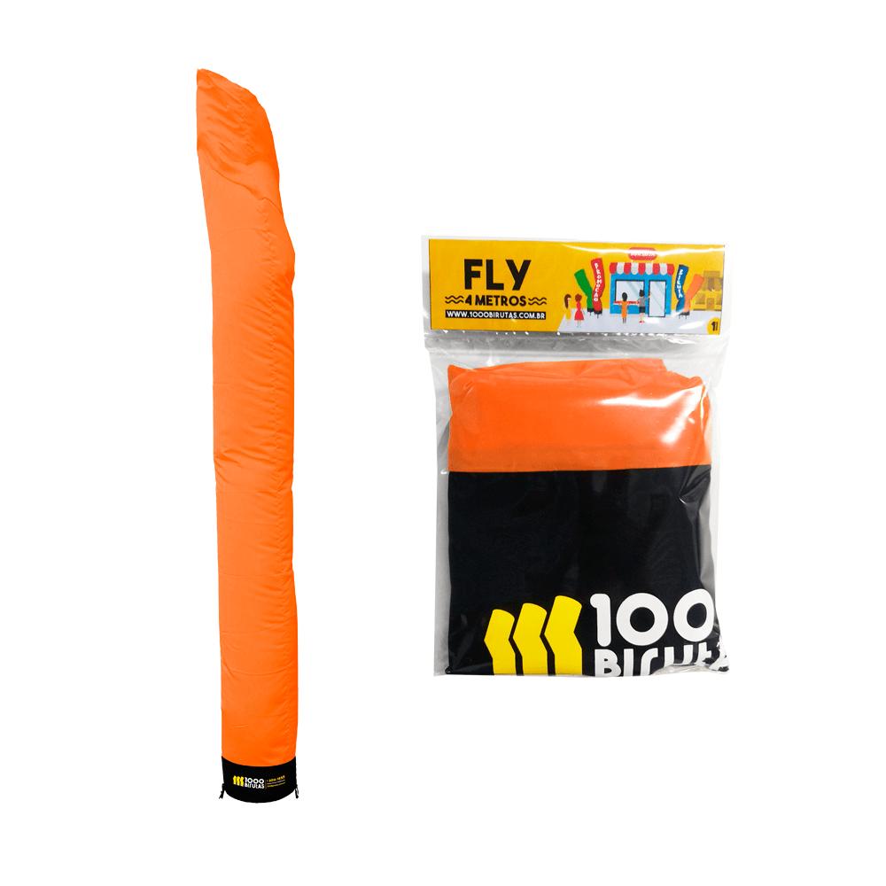 Biruta Maluca Canudo Pano Refil Color FLY 4 Metros  - 1000 Birutas