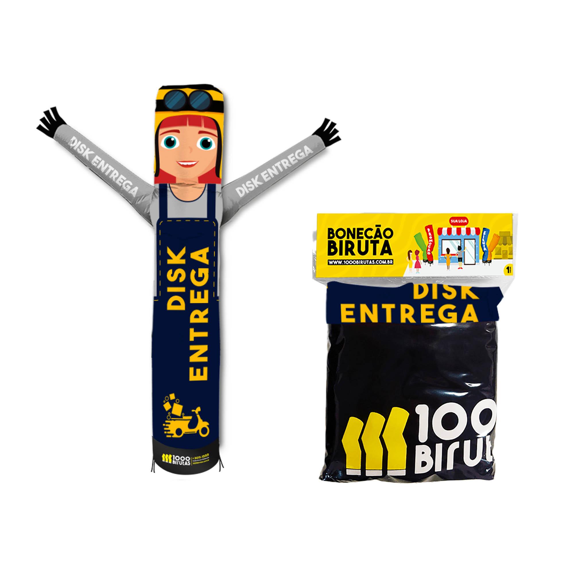 Boneco Bonekito Pano 2M Disk Entregas  - 1000 Birutas