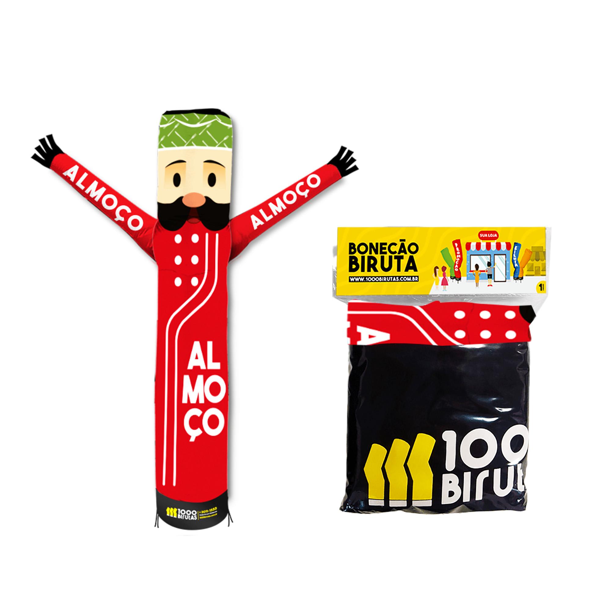 Boneco Bonekito Pano 2M Hora do Almoço  - 1000 Birutas