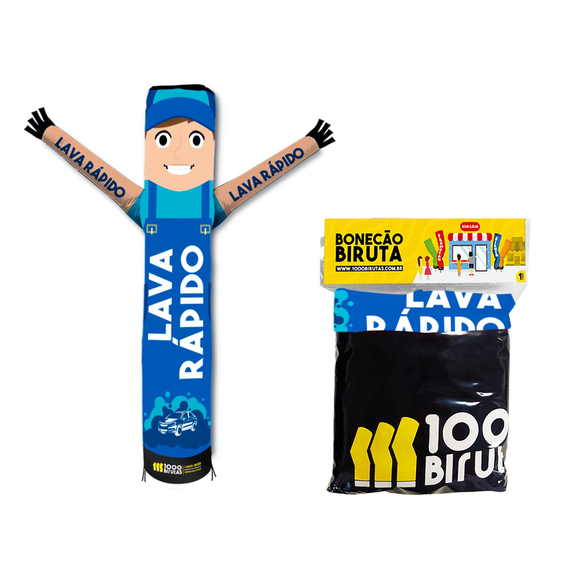 Boneco Bonekito Pano 2M Lava Rápido  - 1000 Birutas