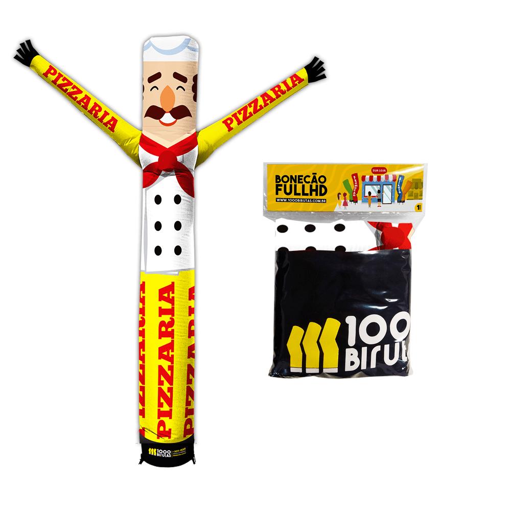 Boneco de Posto Biruta com Exaustor Para Pizzaria  - 1000 Birutas