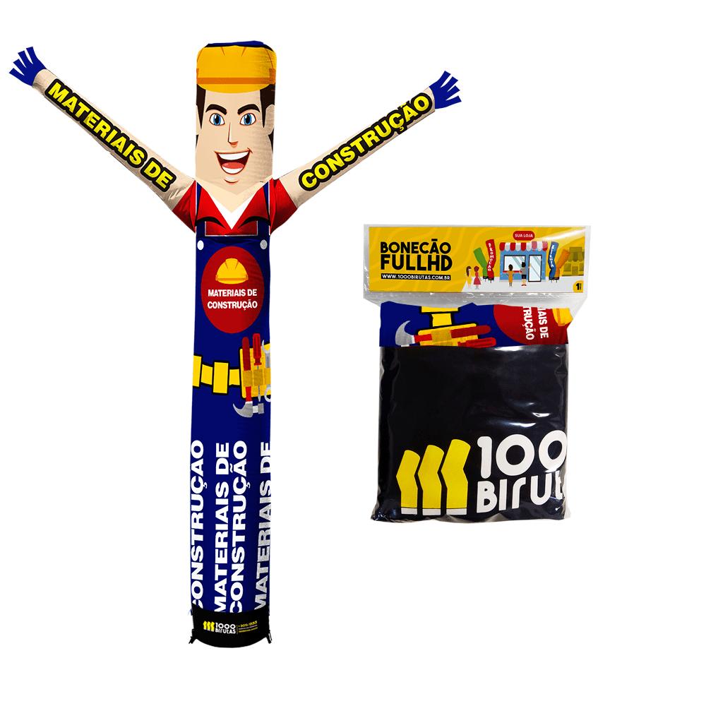 Boneco de Posto Biruta Pano Materiais de Construção  - 1000 Birutas
