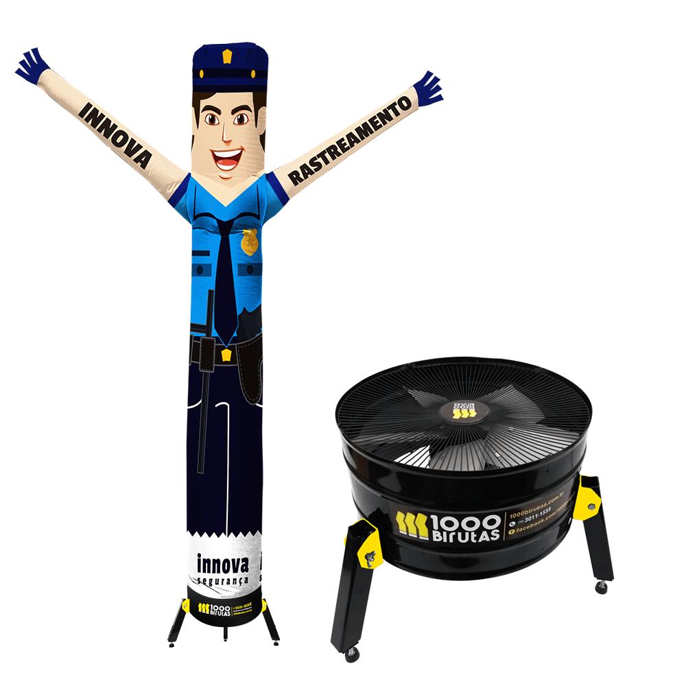Boneco de Posto Biruta Personalizado com Turbina  - 1000 Birutas