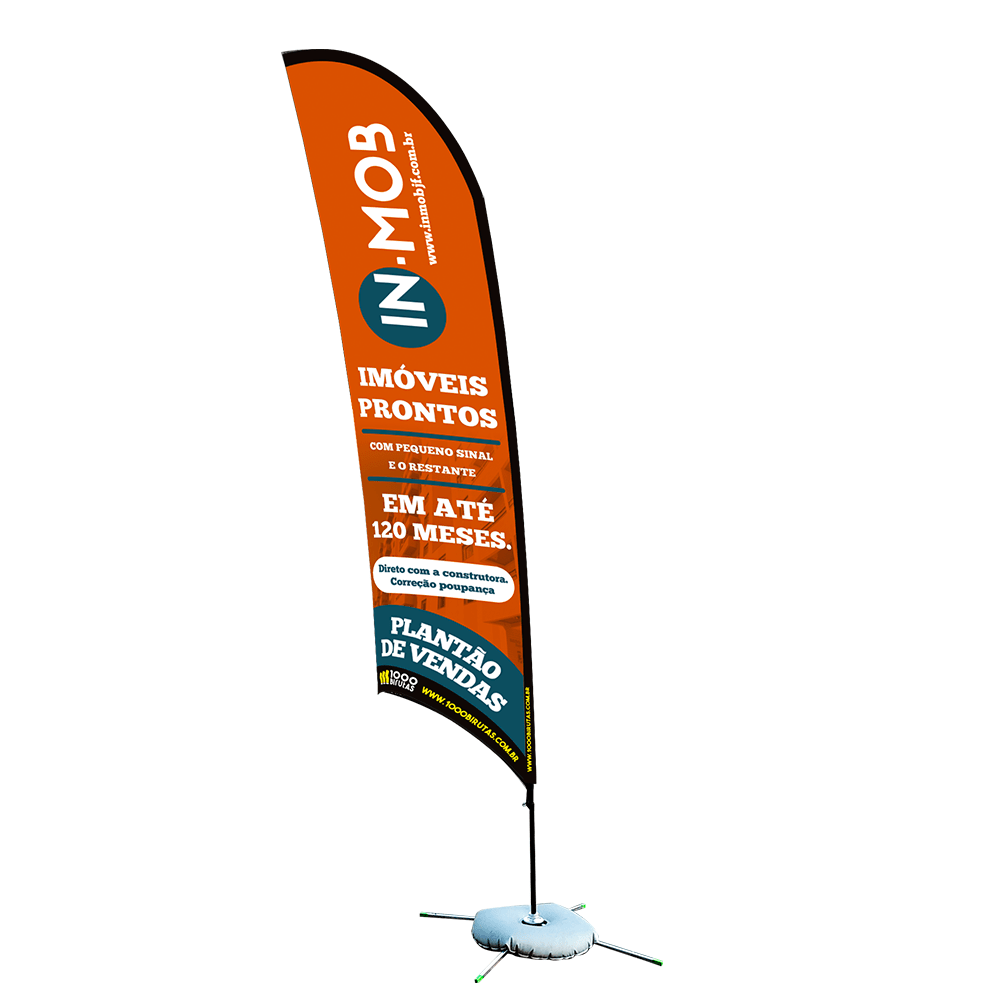 Wind Banner de Praia