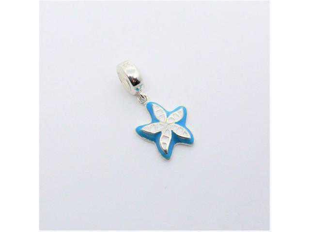 Berloque Pandora Flor Azul