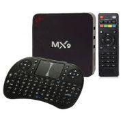 Aparelho Box MX9 Android 7.1 8gb HEVC h.265 com Mini Teclado Smart