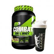 Combat 100% Whey 907g Muscle Pharm e Ganhe Coqueteleira