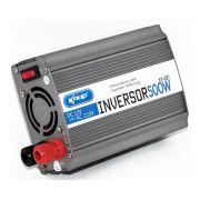 Inversor de Tensão Veicular de 12V para 110V 500W Knup kp-507