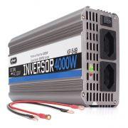 Inversor Veicular de Tensão de 24V  para 110V com Potência 4000w