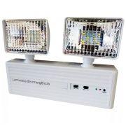 Luminária De Emergência 3w 6500k Bivolt Luatek Lk-731
