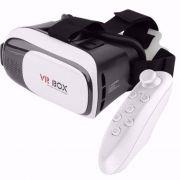 Óculos Vr Box 2.0 Realidade Virtual 3d Com Controle para Celular