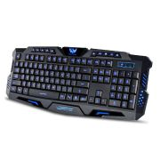 Teclado para Pc Gamer USB com Led Luminoso M200 Verde JP-03