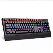 Teclado Mecânico Gamer Usb Led Rgb Luminoso Philips Spk-8403