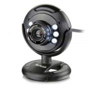 Webcam Multilaser 16MP com Microfone e Led WC045 Multilaser