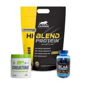 Whey Hi-blend Protein 1,8kg + Creatina 300g + Bcaa 90 Caps