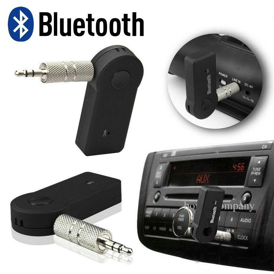 Adaptador Áudio Bluetooth Veicular Para rádio Music Receiver