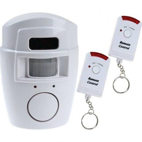 Alarme sem Fio Residencial Com Sensor De Presença Lka-1001