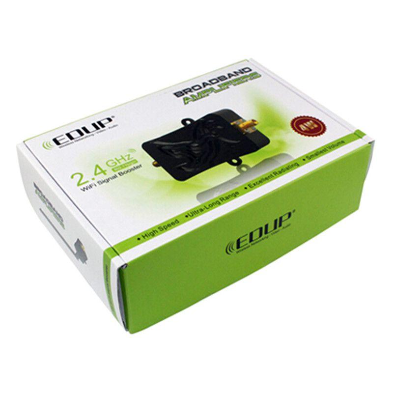 Amplificador de Banda Larga para Router Sem Fio Placa de RedeWifi Signal Booster 2.4 Ghz Edup