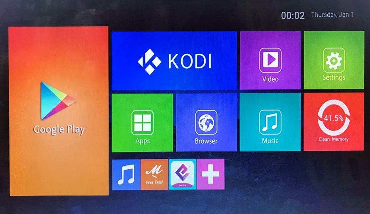Aparelho Box MX9 4k Android 8.1 16gb HEVC