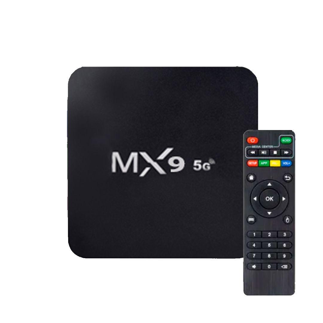 Aparelho Box MX9 4k Android 9.0 5G