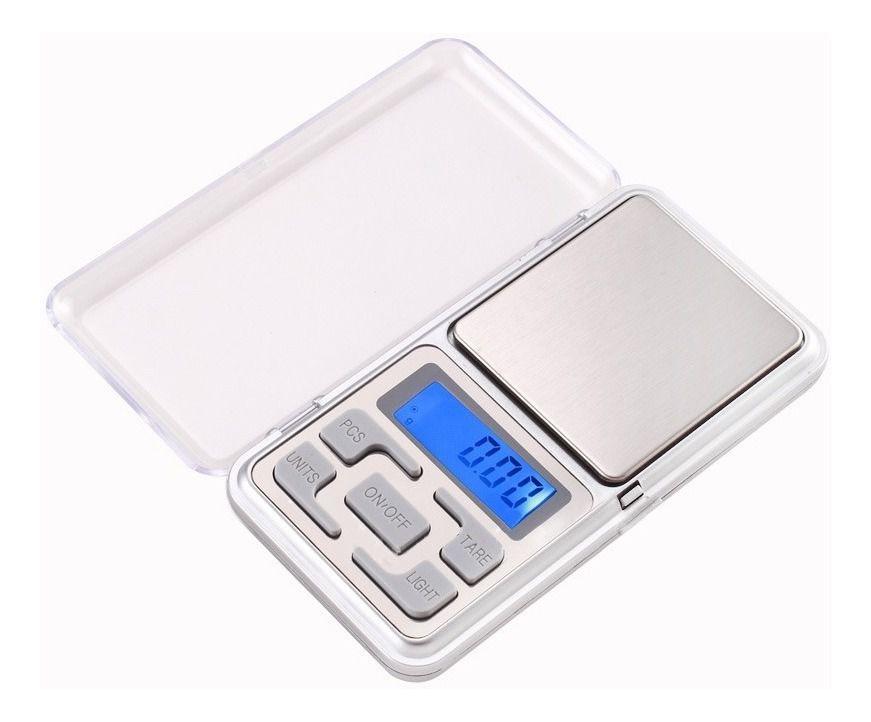 Balança Digital de bolso 500g Mh-500 Tomate