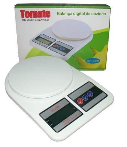 Balança Digital de Cozinha com Capacidade de 10 Kg
