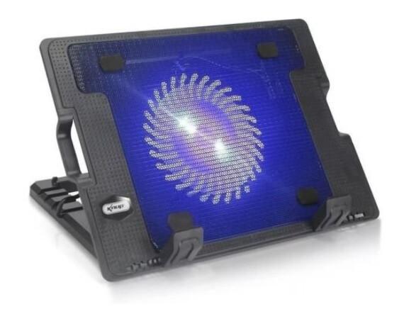 Base Suporte Para Notebook Cooler E Iluminação