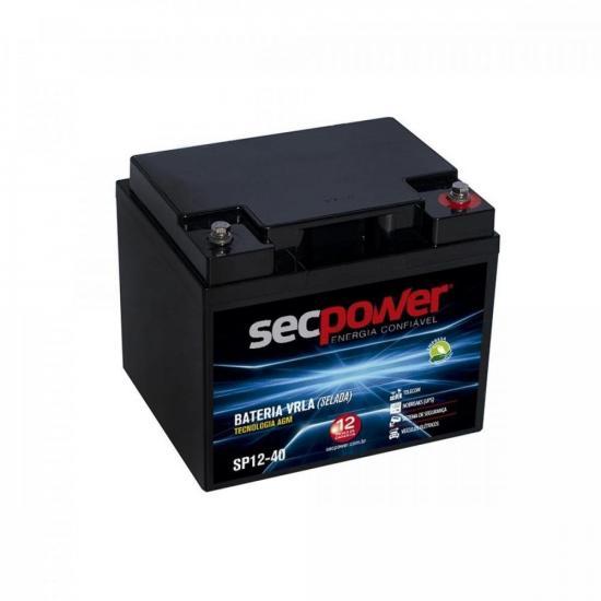 Bateria de Chumbo Ácida VRLA SP12-40 SECPOWER