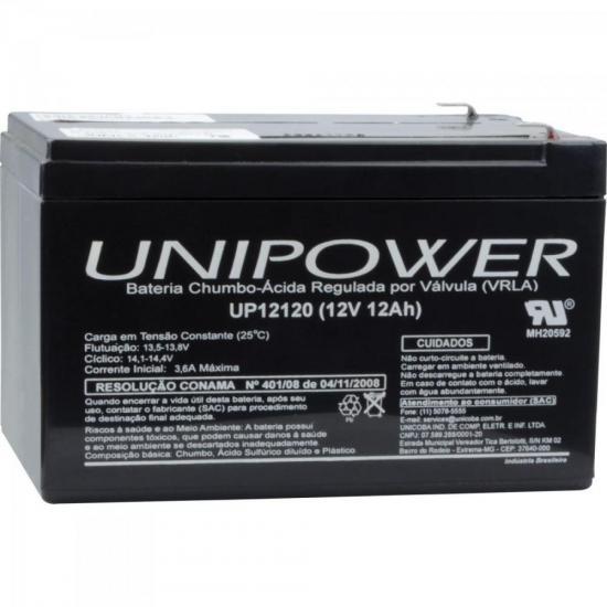 Bateria Estacionária Selada 12V/12A VRLA UP12120 UNIPOWER