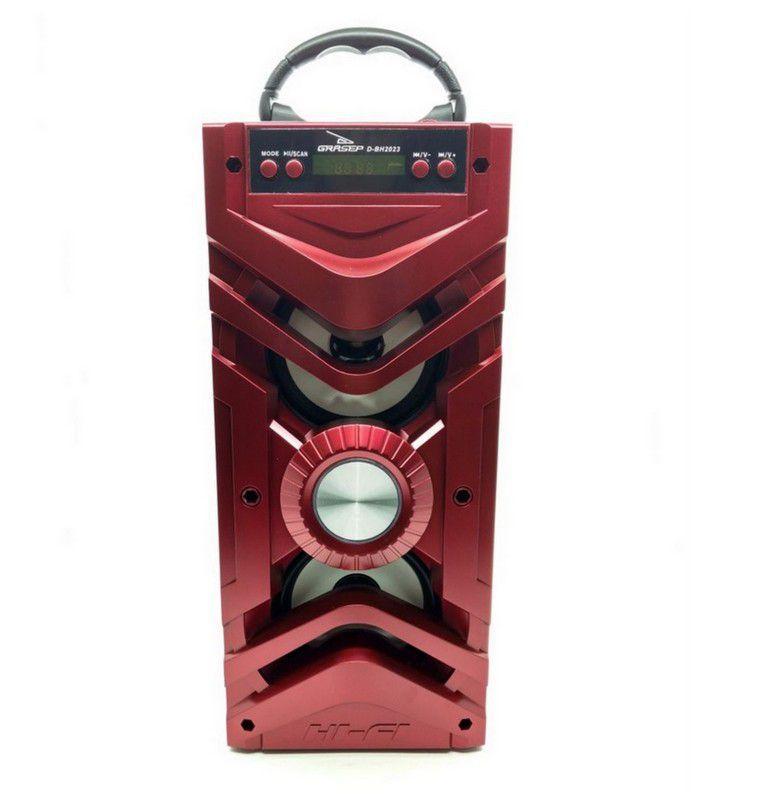 Caixa de som Bluetooth, USB, AUX Grasep D-BH2023