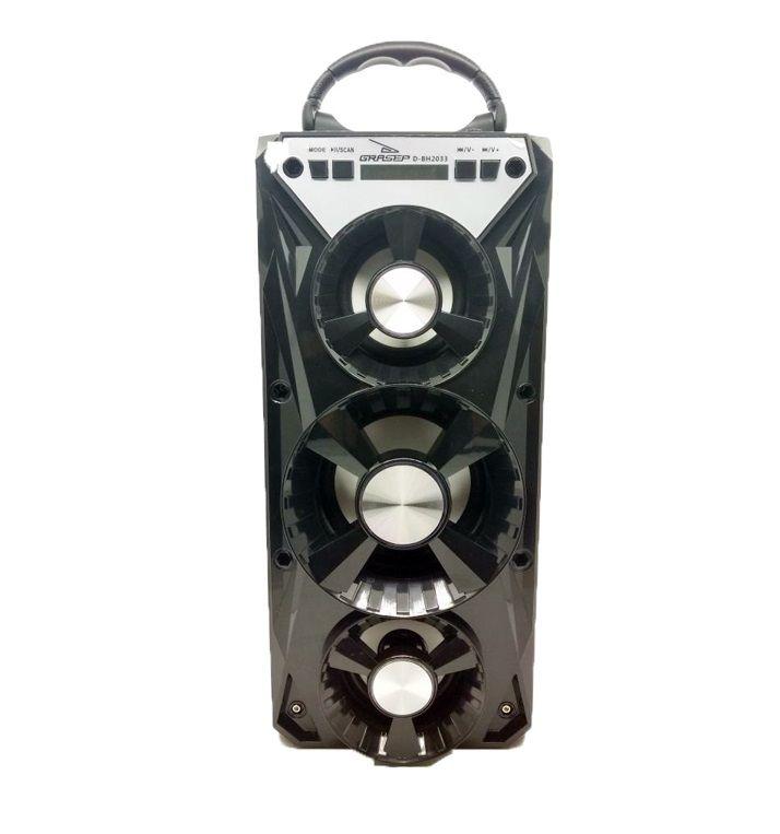 Caixa de Som Bluetooth, USB, AUX Grasep D-BH2033
