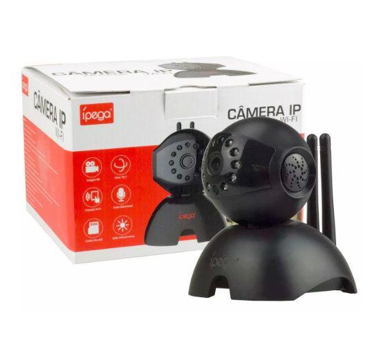 Câmera de Monitoramento Ip Wi-Fi Ípega KP-CA120