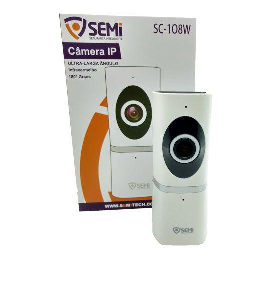 Câmera de Segurança e Monitoramento 720P Semi SC108W