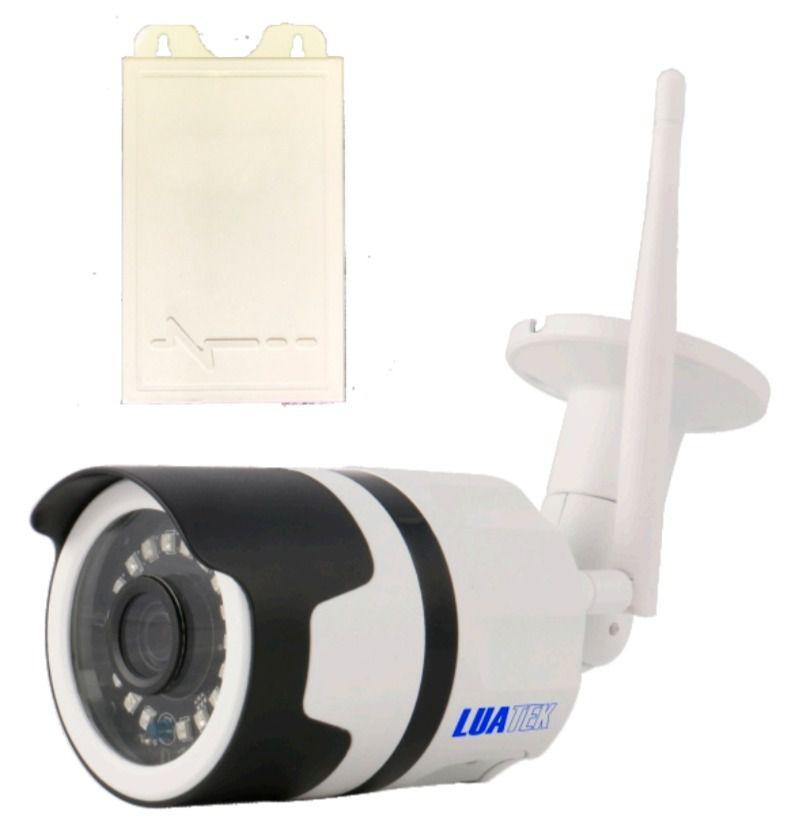 Câmera Ip Wifi Externa Monitoramento 1080p LuaTek Lkw-3120
