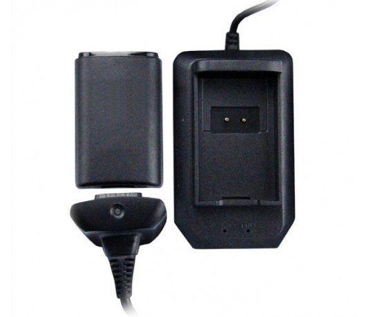 Carregador e Bateria 4 em 1 para Controle Xbox 360  B-max BM-545