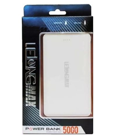 Carregador Power Bank 5000mAh Lelong Max-0522