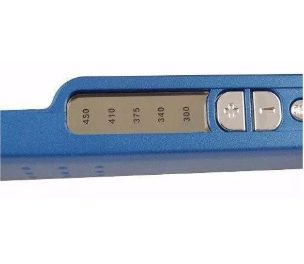 Chapinha Nano Titanium Swissport Bivolt Regulagem de Temperatura 450°