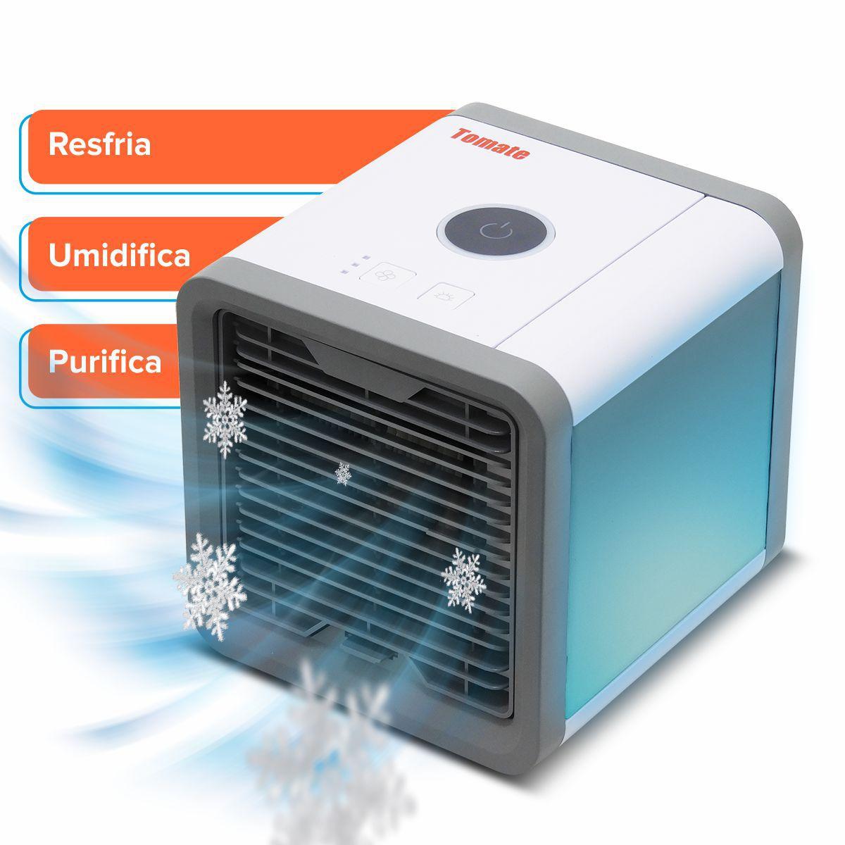 Climatizador de Ar Pessoal tomate mlf-001 Bivolt