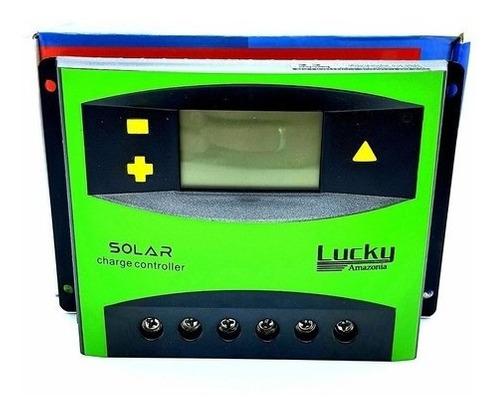 Controlador De Carga Painel Solar 60a Regulador 12v 760w 24v