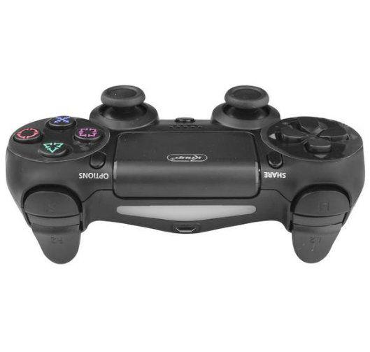 Controle com Fio DuploShock PS4 Knup KP-4028 Preto