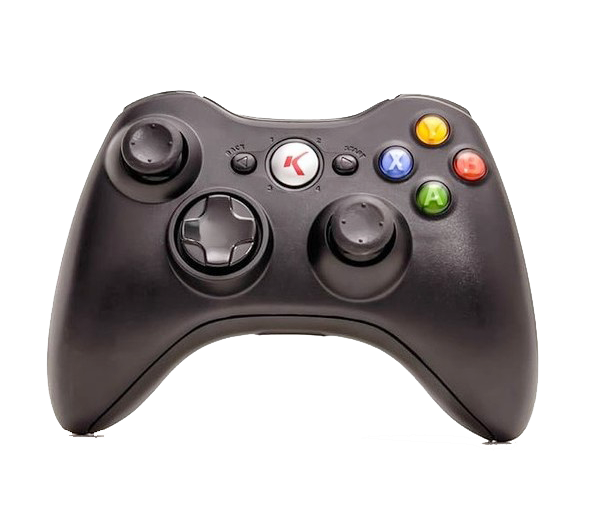 Controle para Xbox 360 Sem fio 2.4g Knup Kp-5122A