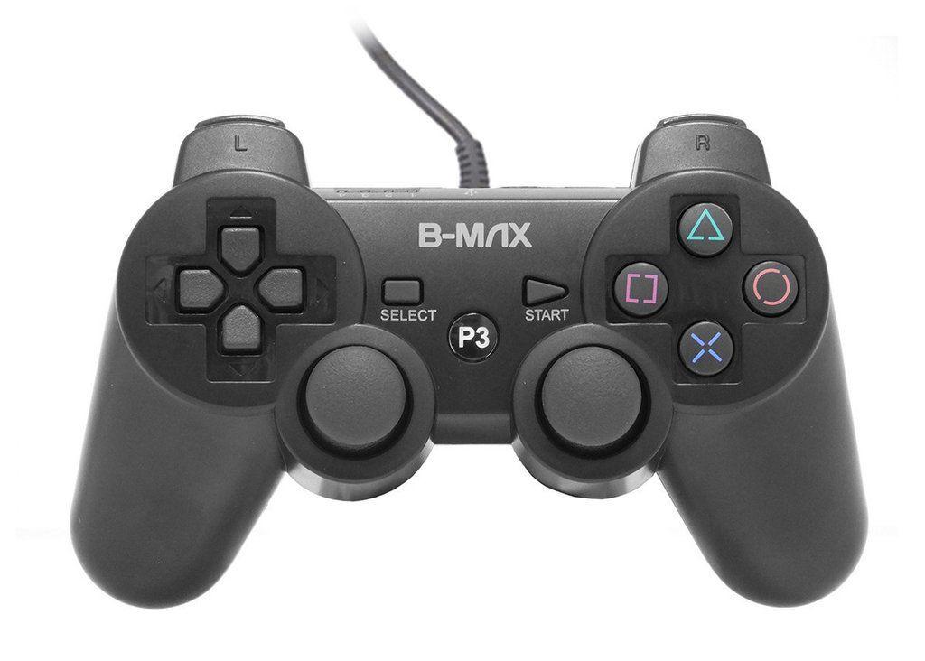 Controle PlayStation 3 Com fio B-Max BM-1206