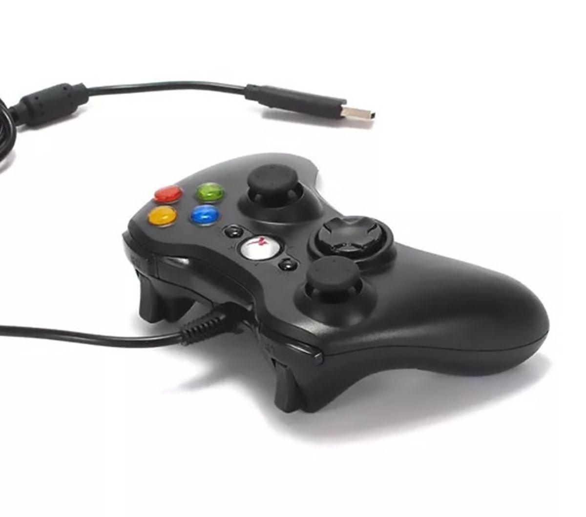 Controle Xbox 360 Com fio Knup KP-5121A