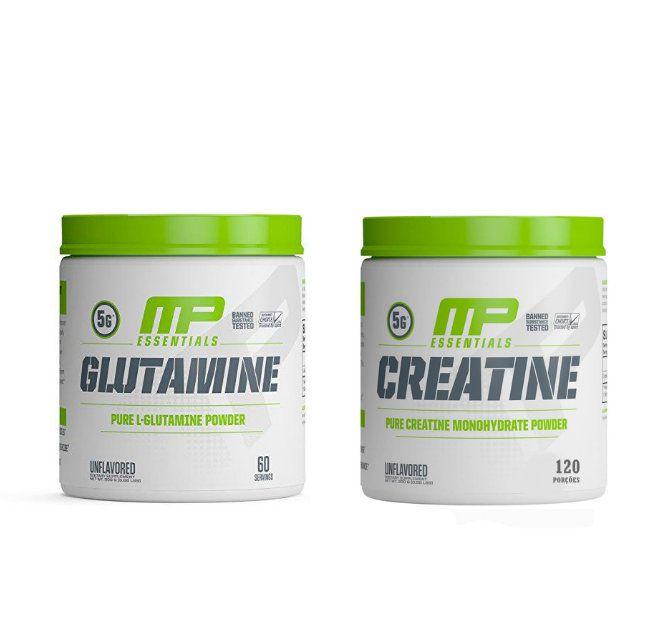 Creatina 300g + Glutamina 300g Muscle Pharm