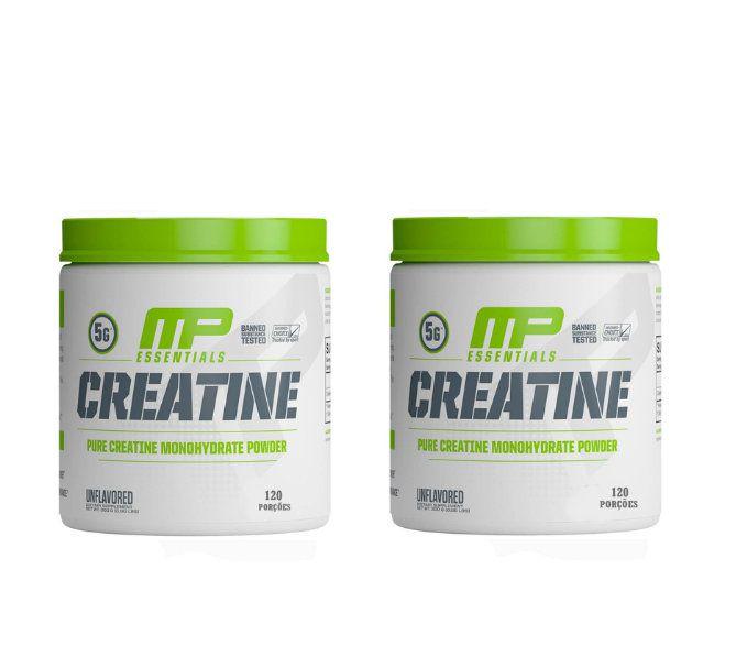 Creatinas Monohidratadas 300g cada 120 Porções Muscle Pharm