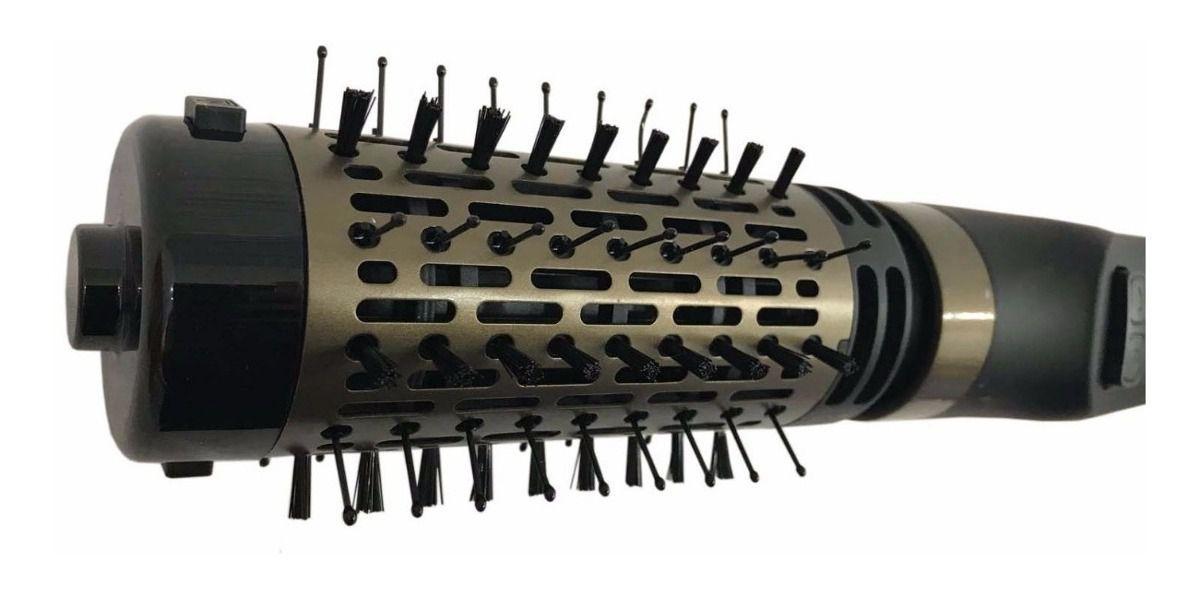 Escova de Cabelo Rotativa Seca, Modela e Alisa Monaliza BY 805